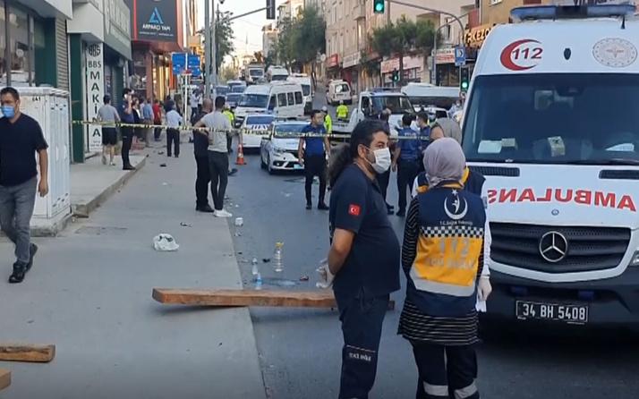 İstanbul'da servis aracıyla minibüs çarpıştı: 1 ölü, 6 yaralı