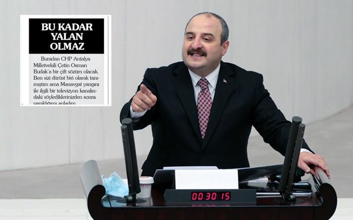 Mustafa Varank gazete küpürünü paylaştı yerel gazetecinin isyanı: Bu kadar yalan olmaz