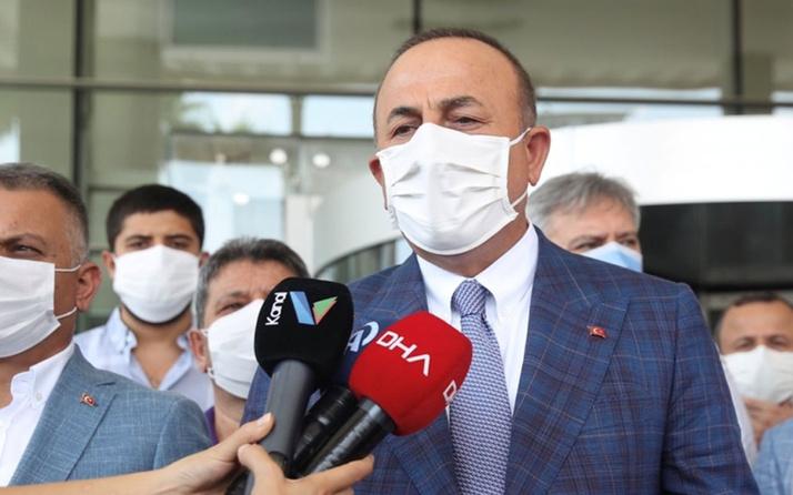 Mevlüt Çavuşoğlu'ndan Muhittin Böcek'e tepki: Hiç yakışmadı!
