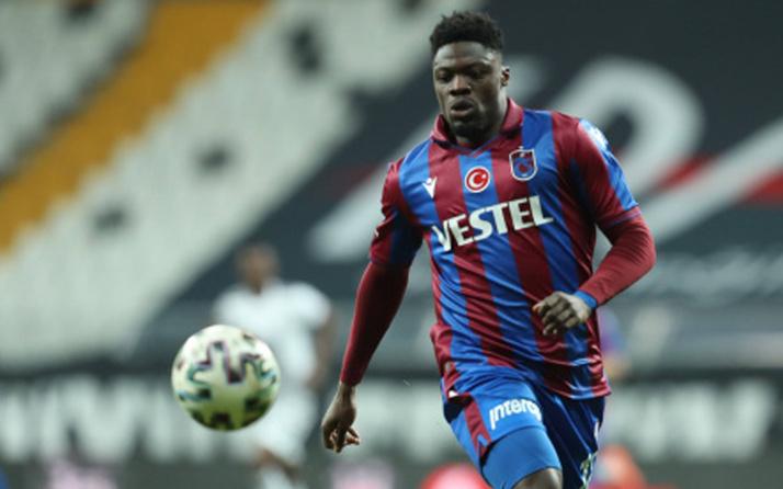 Ekuban, Genoa'ya transfer oluyor! Trabzonspor'dan KAP bildirisi