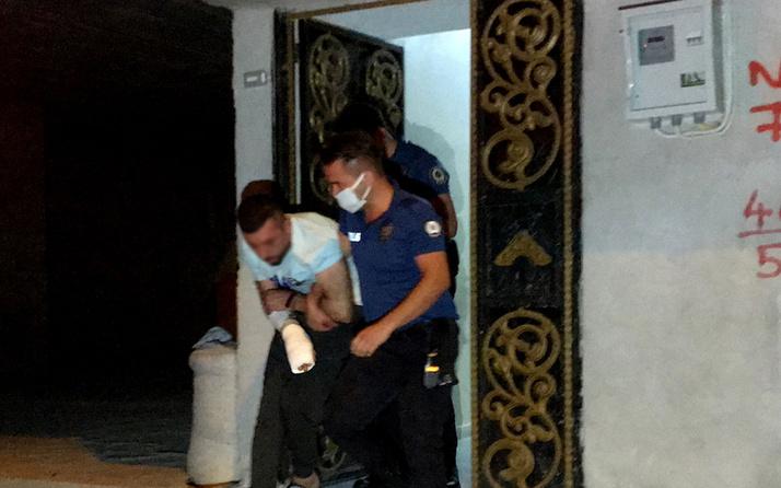 Olay yeri Adana! Karısını ve çocuklarını darp etti, kapısı kırılarak girilen evde yakalandı
