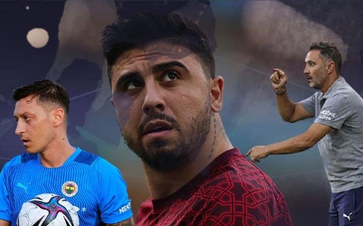 Vitor Pereira, Ozan Tufan ve Mesut Özil'den memnun değil