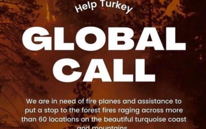 Yangın sonrası Türkiye için yardım kampanyaları! İşin aslını İngiliz sosyal medya uzmanı açıkladı