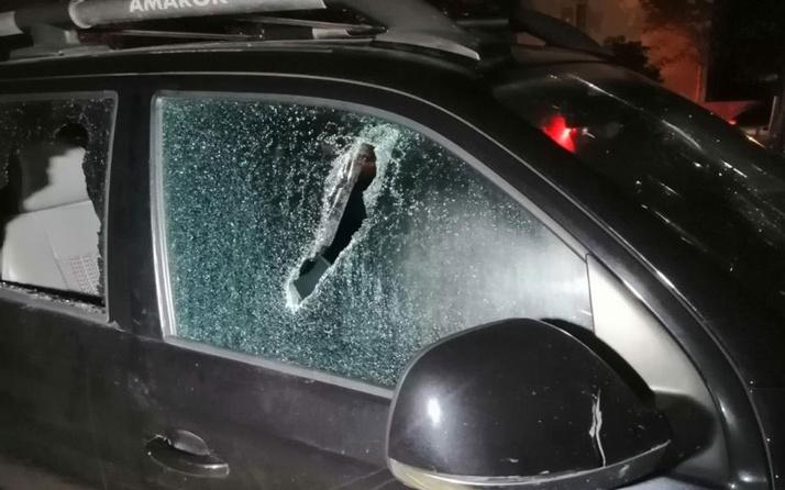 Olay yeri Aksaray! Sevdiği kızın nişanlısının aracına zarar verdi