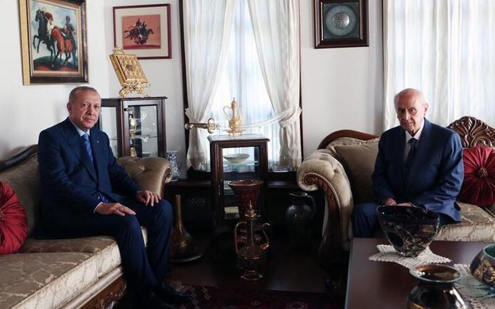 Cumhurbaşkanı Erdoğan'dan MHP lideri Bahçeli'ye kritik ziyaret!