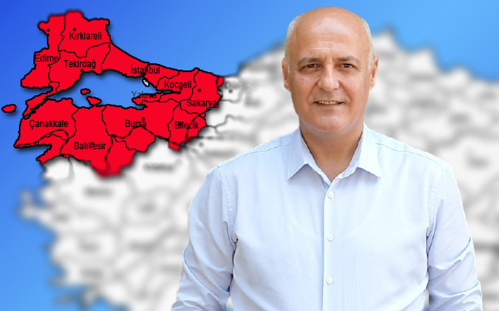 Prof. Dr. Tolunay'dan Marmara Bölgesi'ne 'yangın' uyarısı