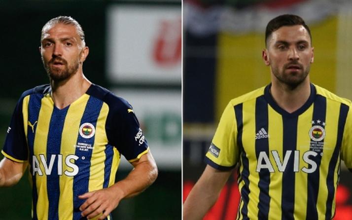 Fenerbahçe'de Caner Erkin ve Sinan Gümüş depremi! Kadro dışı bırakıldılar