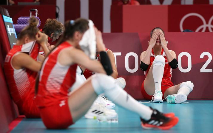 A Milli Kadın Voleybol Takımı çeyrek finalde Güney Kore'ye 3-2 yenilerek elendi