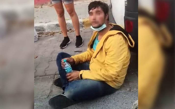 İstanbul'da 'sara hastasıyım' diyerek kendini yere attı! Gerçek ise bakın ne çıktı