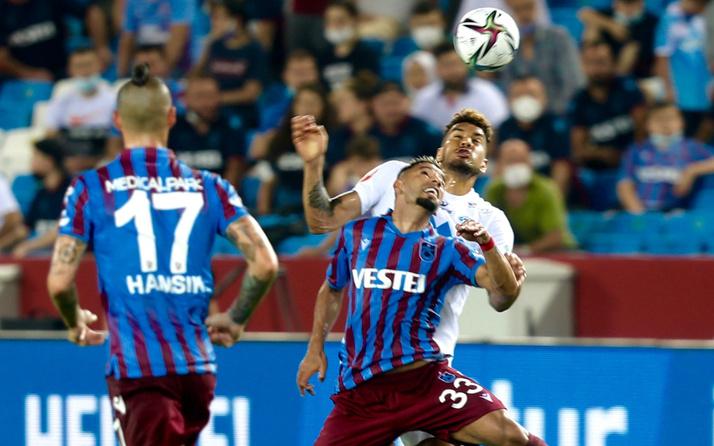 UEFA Avrupa Konferans Ligi'nde Molde'yi konuk eden Trabzonspor fırsat tepti