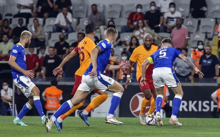 UEFA Avrupa Ligi'nde Galatasaray konuk ettiği St Johnstone ile berabere kaldı
