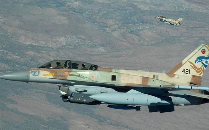 İsrail uçakları Lübnan'ın güneyinde bazı noktaları vurdu