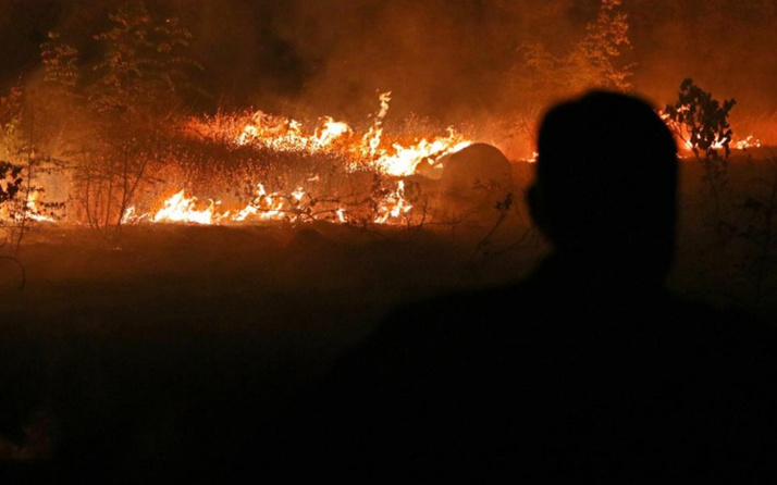 Kuzey Makedonya'da yangınlar nedeniyle 'kriz durumu' ilan edildi