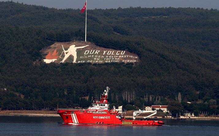 Türkiye'nin ilk acil müdahale gemisi Muğla yolunda
