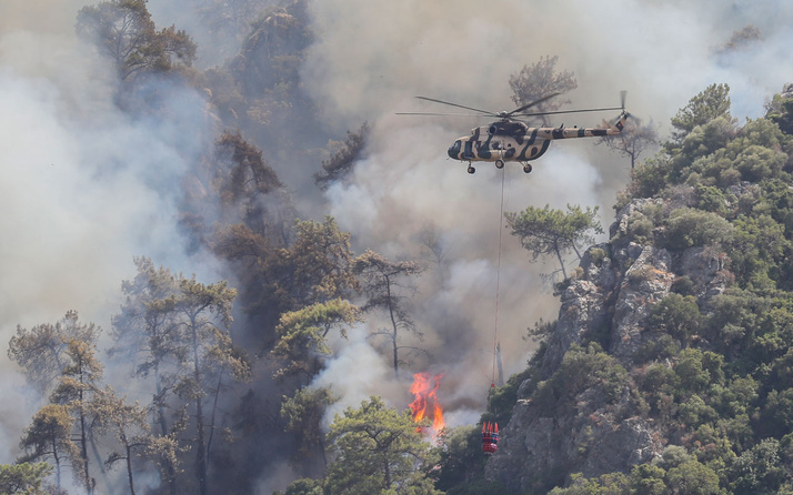Bodrum, Marmaris, Köyceğiz, Milas yangınlarında son durum haberler kötü
