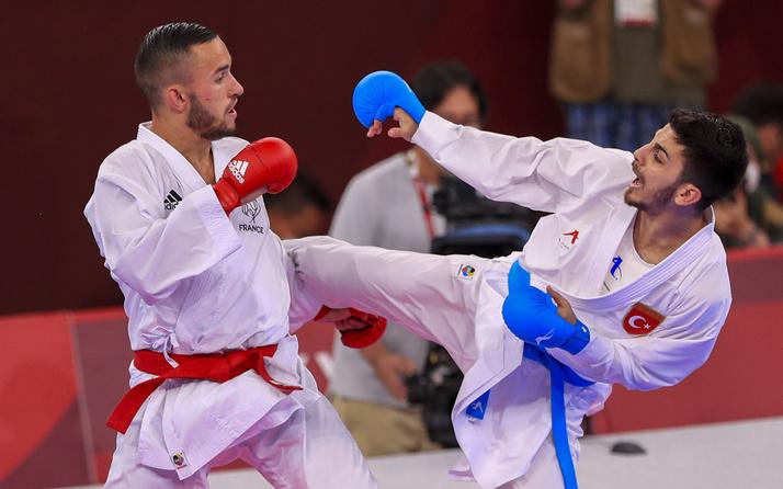 Eray Şamdan finalde kaybetti! Tokyo 2020'de karatede gümüş madalya kazandı