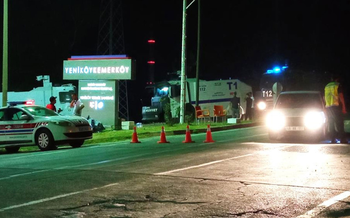 Yeniköy Termik Santralinde yangın tedbiri