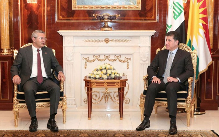 CHP'li Oğuz Kaan Salıcı'dan Barzani ziyareti açıklaması