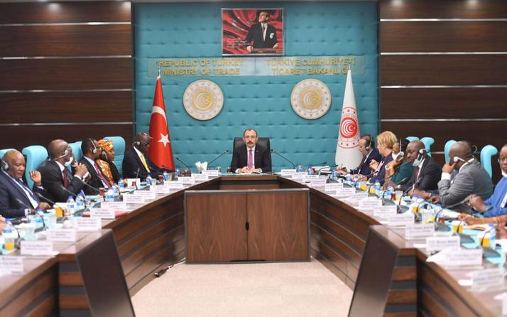 Bakan Mehmet Muş, Afrika ülkelerinin Ankara büyükelçileriyle bir araya geldi