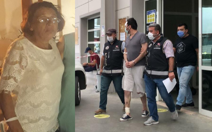 Aydın'da 3 kişiden dayak yediğini söyleyen şahıs, annesi ölü bulununca gözaltına alındı
