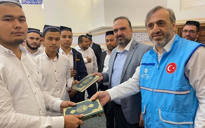 Özbekistan'da 30 bin Özbekçe mealli Kur'an-ı Kerim dağıtıldı