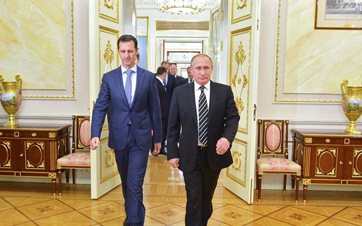 Rusya lideri Putin karantinaya alındı! Sabah Beşar Esad ile görüşmüştü