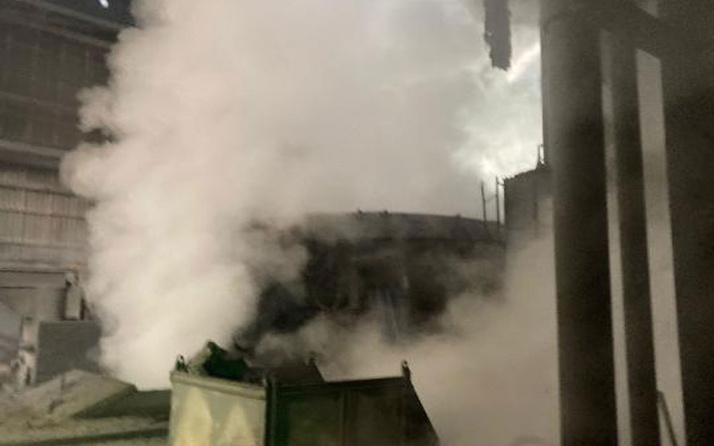 Bartın'da demir çelik fabrikasında patlama oldu! 5 işçi yaralandı