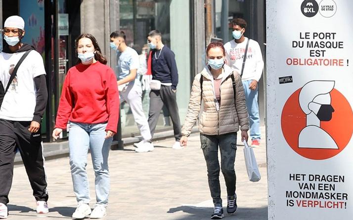Belçika'da maskeler kalkıyor tarih açıklandı