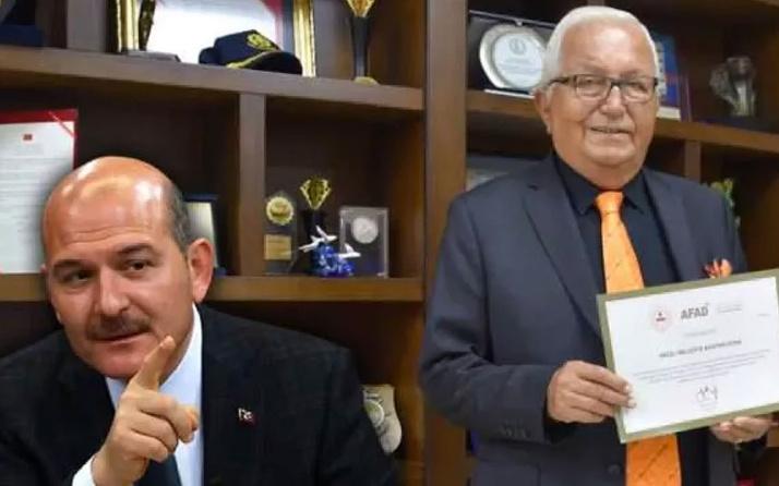İçişleri Bakanı Soylu'dan CHP'li Ereğli Belediye Başkanına teşekkür belgesi