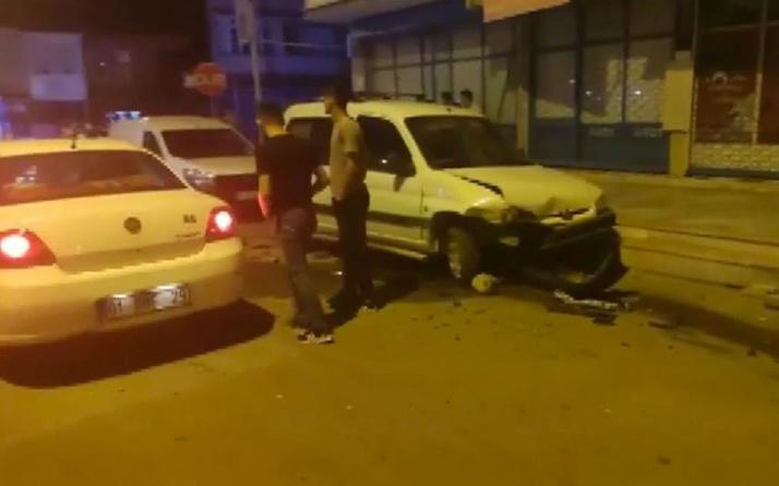 Bursa'da ehliyetsiz çocuk sürücü ortalığı birbirine kattı mahallelinin elinden zor kurtardılar