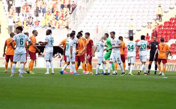 Galatasaray Alanyaspor maçı golleri ve geniş özeti