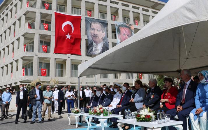 Gaziler Günü'nde Bakan Derya Yanık Çanakkale Şehit Yakınları ve Gazievi'ni açtı