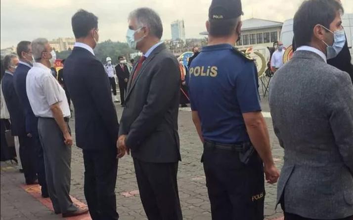 Atatürk Anıtına sırtını dönmüştü! CHP'li Kadıköy İlçe Başkanı Ali Narin Gaziler Günü törenine katılmadı