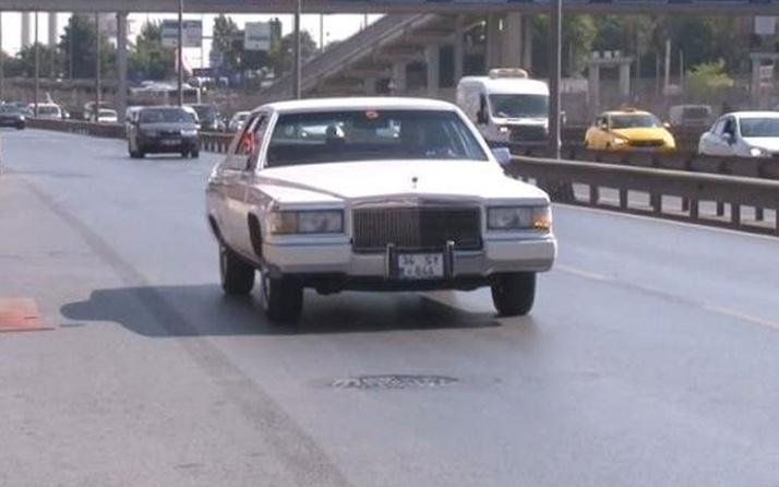 Her şey kırık jantla başladı 1970 model otomobiline Amerika'dan talip çıktı
