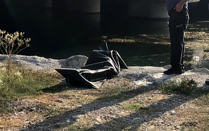 Adana'da Seyhan Nehri'nde ceset bulundu
