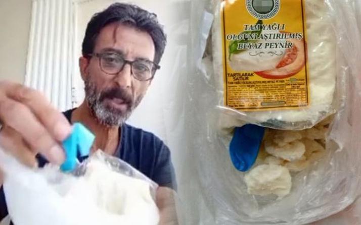 Muğla'da marketten aldığı peynirden öyle bir şey çıktı ki inanamadı: Suç duyurusunda bulundum