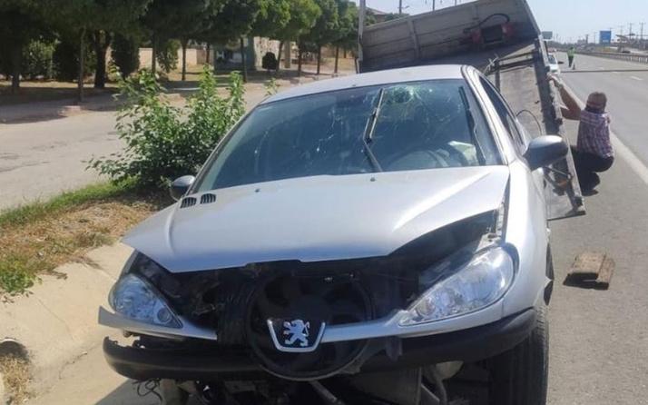 Olay yeri Edirne! Düşürdüğü maske yüzünden kaza yaptı