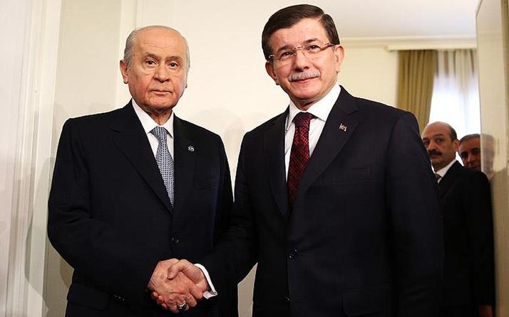Ahmet Davutoğlu'ndan Devlet Bahçeli'ye cevap: Donuk yüzle konuşma