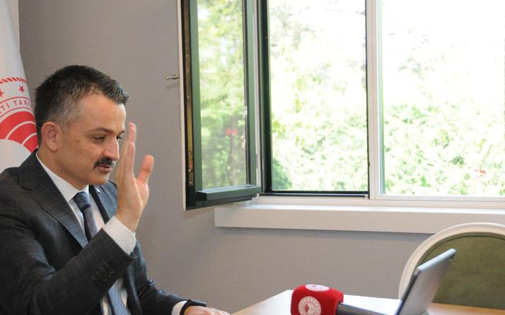 Bakan Bekir Pakdemirli duyurdu: Kuru fasülyede Cumhuriyet tarihi rekoru