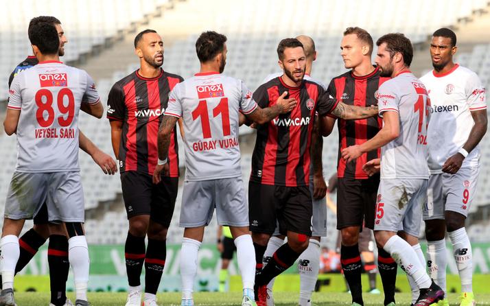 Fatih Karagümrük ile Antalyaspor puanları paylaştı