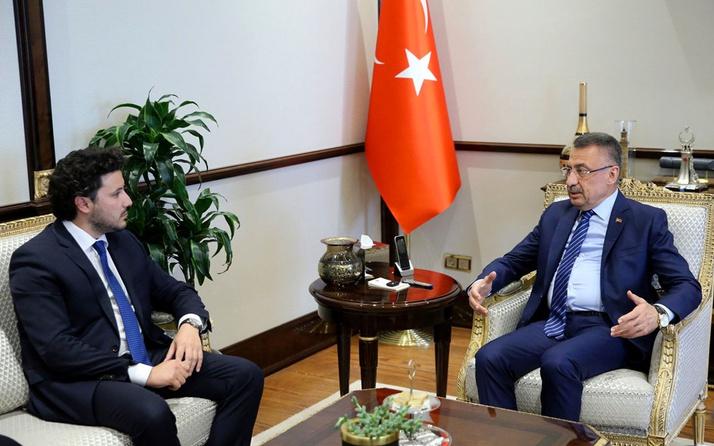 Fuat Oktay, Karadağ Başbakan Yardımcısı Abazoviç'le görüştü