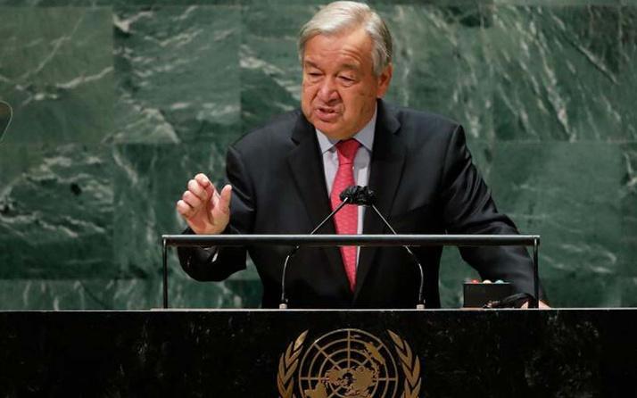 Birleşmiş Milletler toplantısı başladı! Guterres'ten korkutan açılış: Tehlike çanlarını çalmak için buradayım!