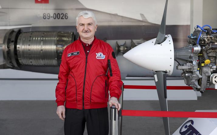 Türkiye'nin yeni İHA motoru ilk kez TEKNOFEST'te 5 kg daha hafif