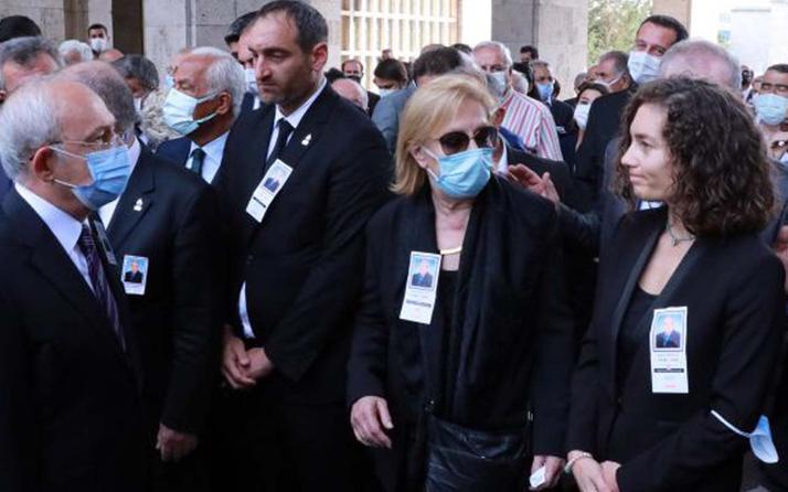 Nevşin Mengü'nün babası Şahin Mengü için cenaze töreni Kemal Kılıçdaroğlu da oradaydı