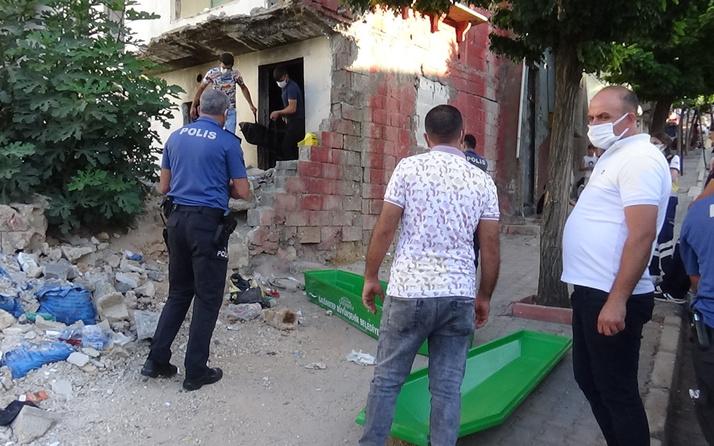 Gaziantep'te terk edilmiş binada bulundu! Binada gören ekiplere haber verdi