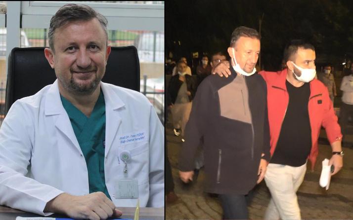 Bursa'da profesör hastanede suç üstü yakalandı! Cezaevini boyladı