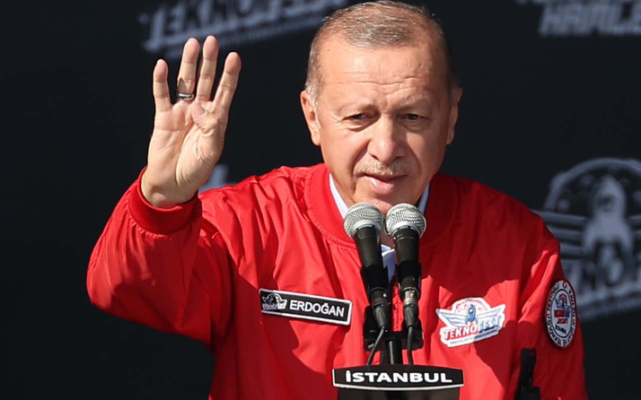 Cumhurbaşkanı Erdoğan TEKNOFEST'te! Artık başka ülkelerde de yapılacak