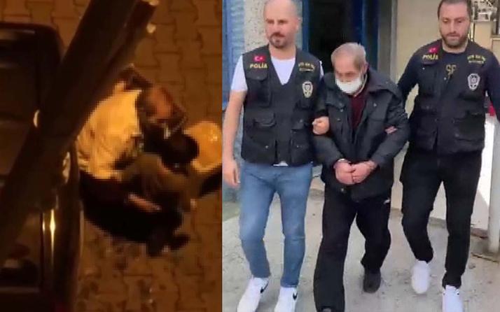 71 yaşındaki adam sokak ortasında iki Suriyeli çocuğu taciz etmiş