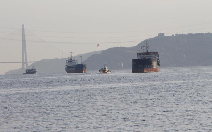 İstanbul Boğazı Yeniköy önünde Türk ve Rus gemisi çarpıştı!