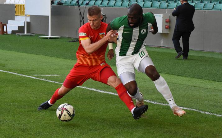 Giresunspor ile Kayserispor puanları paylaştı